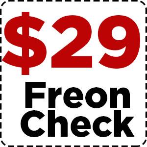 $29 Freon Check