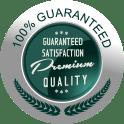 100% Guarantee Logo - Grand Prairie, TX